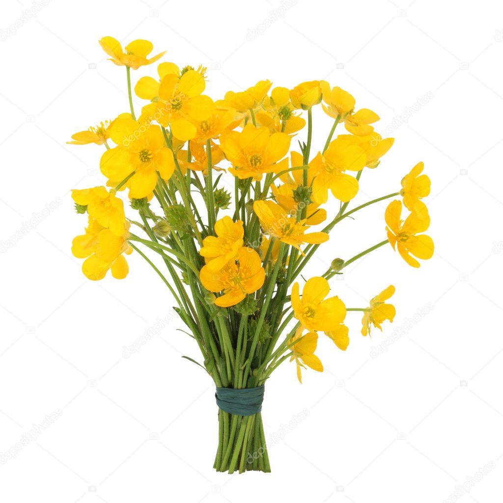 Buttercup Flower Posy
