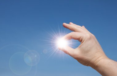Sun In your hands