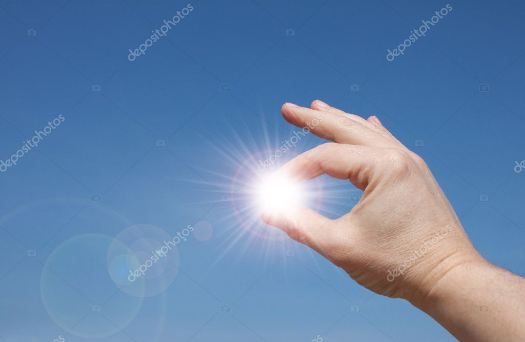Sun In your hands
