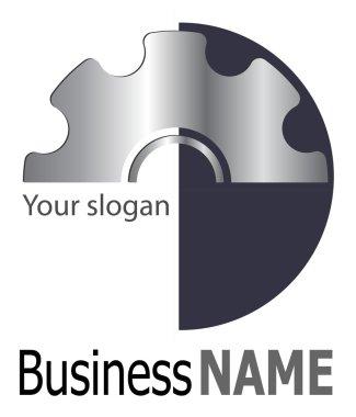 Logo silver gears
