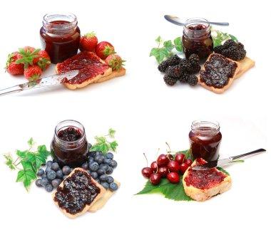 Mix marmalade jam