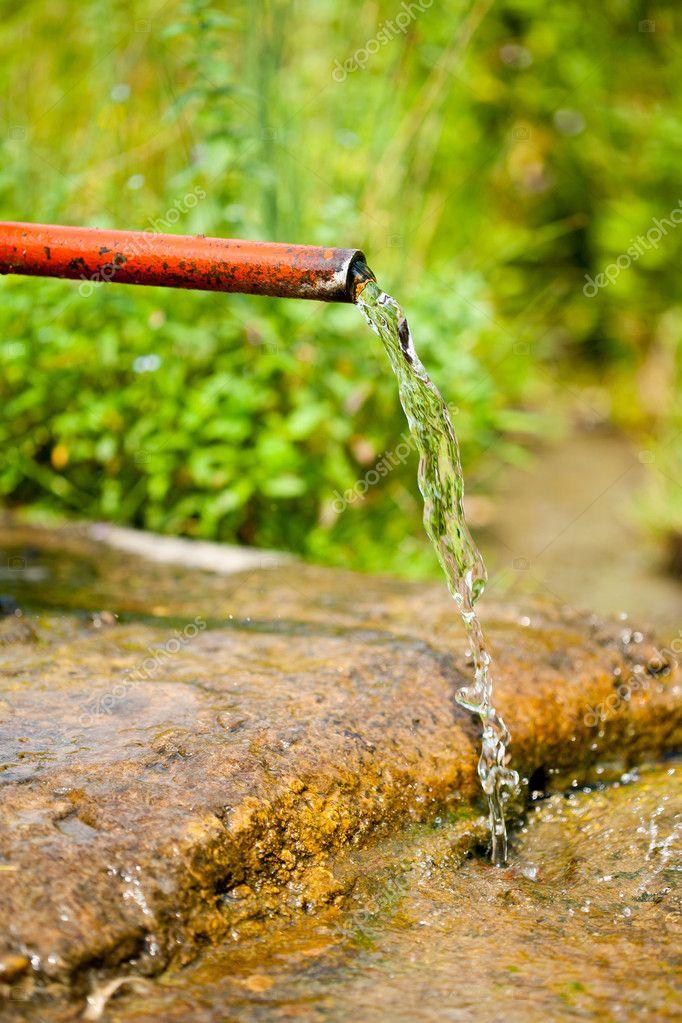 Vintage water tap