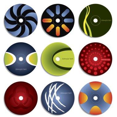CD & DVD label designs