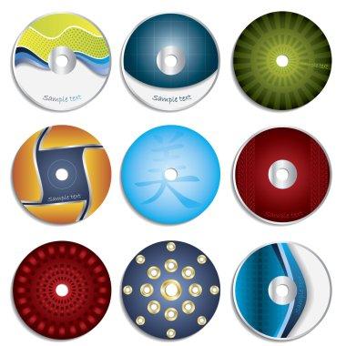 Cool CD & DVD label designs