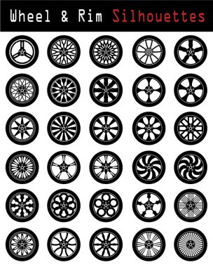 Wheel & Rim silhouettes