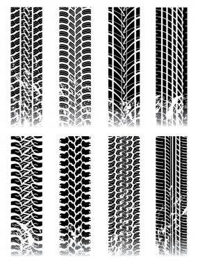 New set of tire tracks