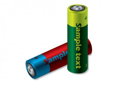 Colorful batteries