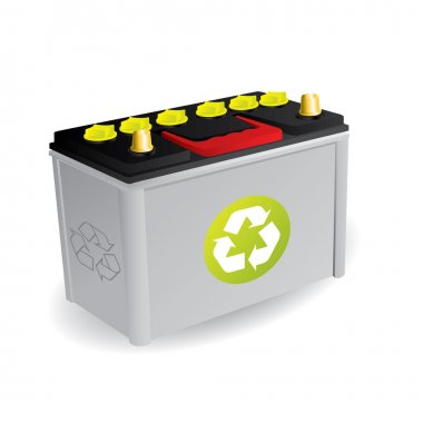 Recyclable car battery