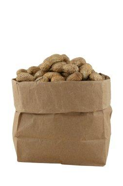 Peanuts in a bag