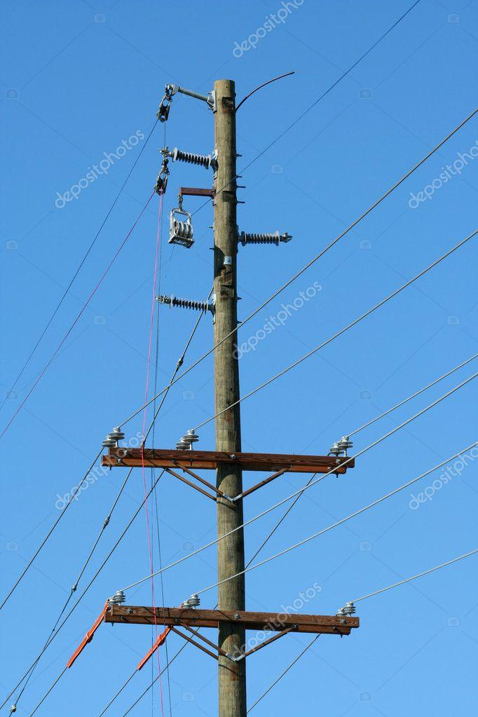 Telefonmast — Stockfoto © njnightsky #3638421