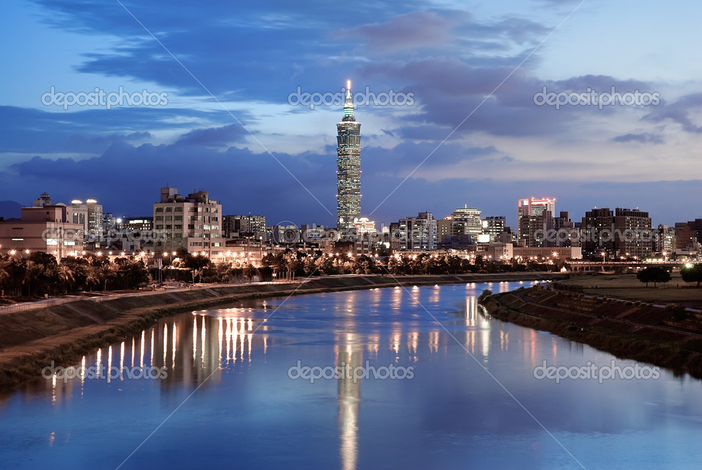 Serenity cityscape