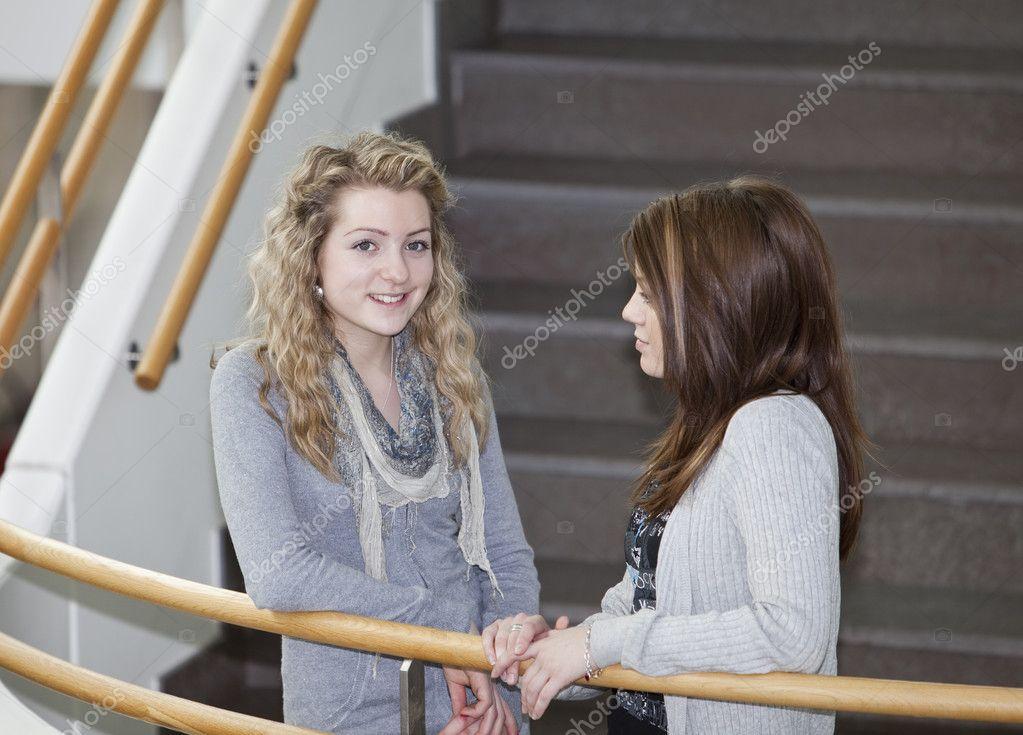 praten met meisjes