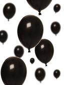 fekete léggömb