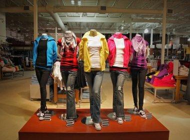 Teenage fashion store