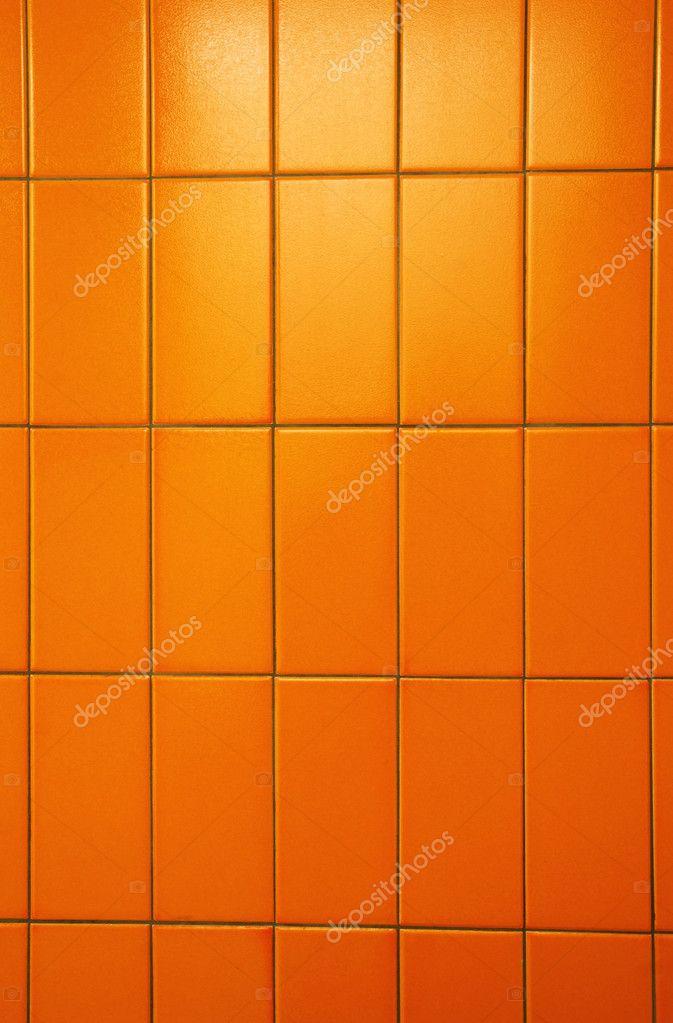 narancssárga csempe fal — Stock Fotó © Mirage3 #3870116