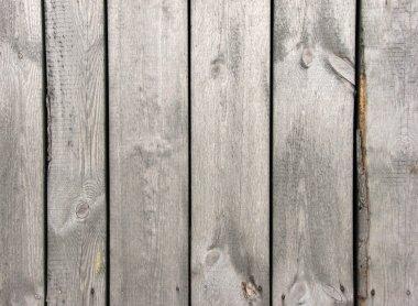 Wood board fence