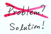 Vyškrtněte problému a najít řešení