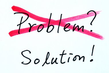Cross out problem and find the solution