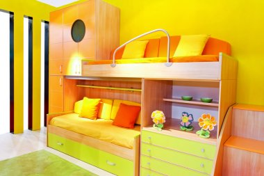 Kids room angle