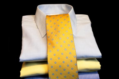 Shirts and tie