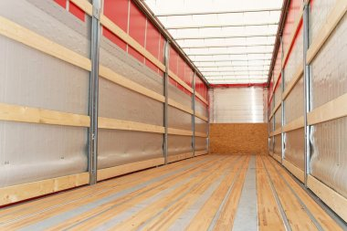 Semi truck horizontal