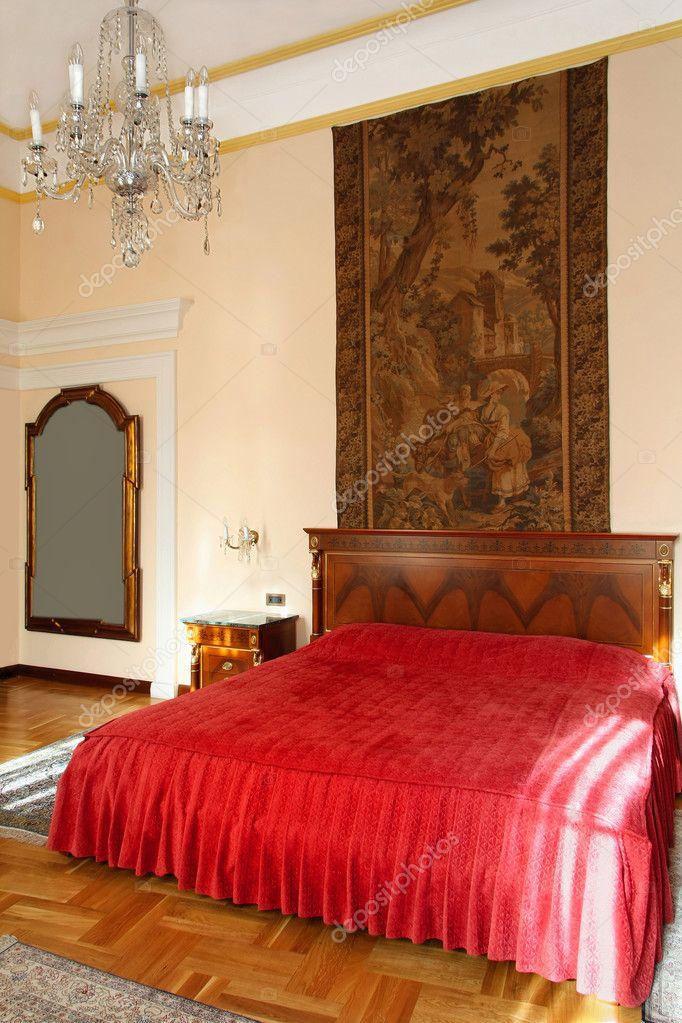 Alte Schlafzimmer U2014 Stockfoto