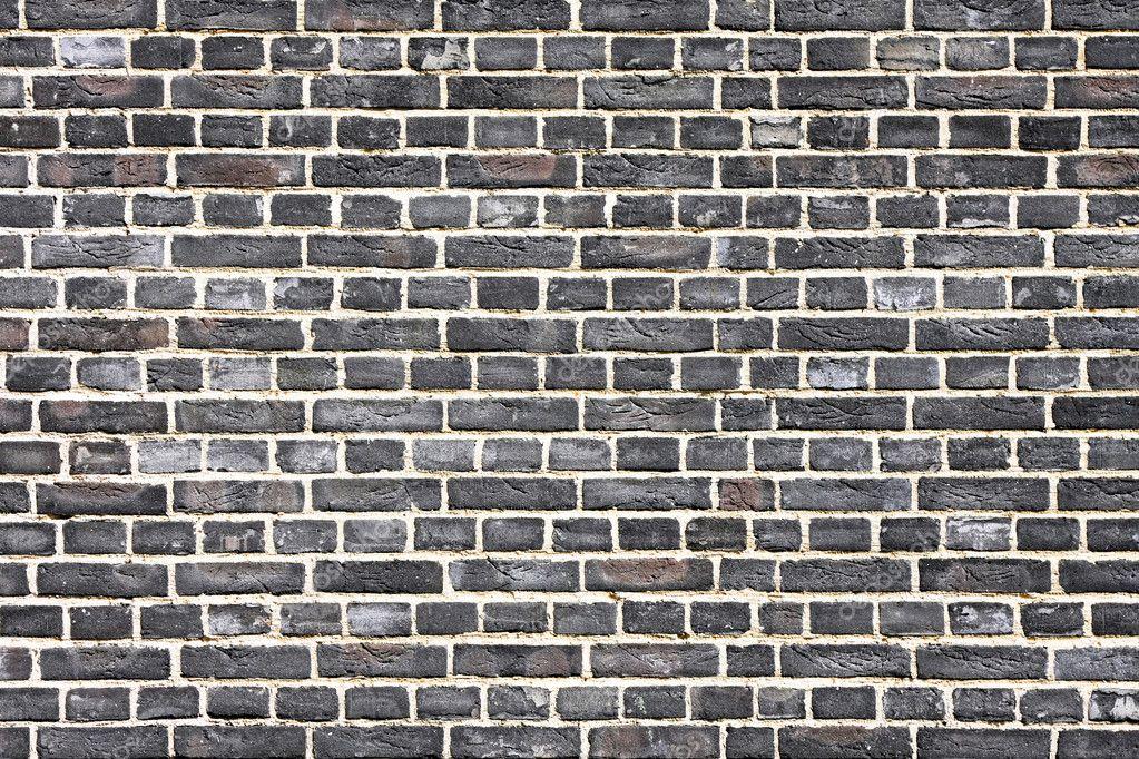 Black Brick Wall Stock Photo Baloncici 3233857
