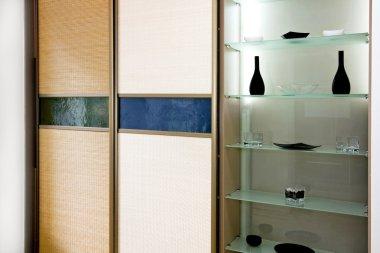 Wardrobe bamboo