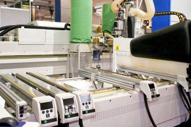 Laser wood machine