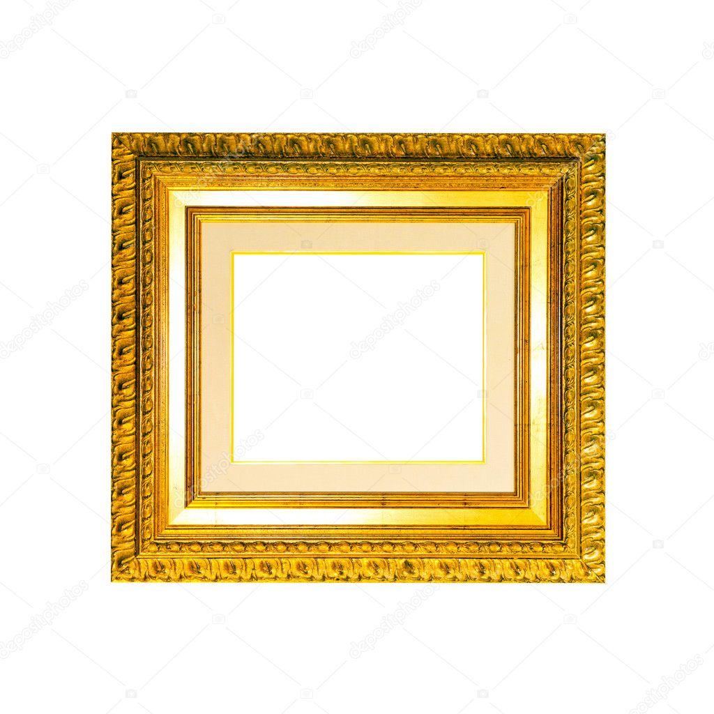 alte goldener Rahmen — Stockfoto © Baloncici #3461894