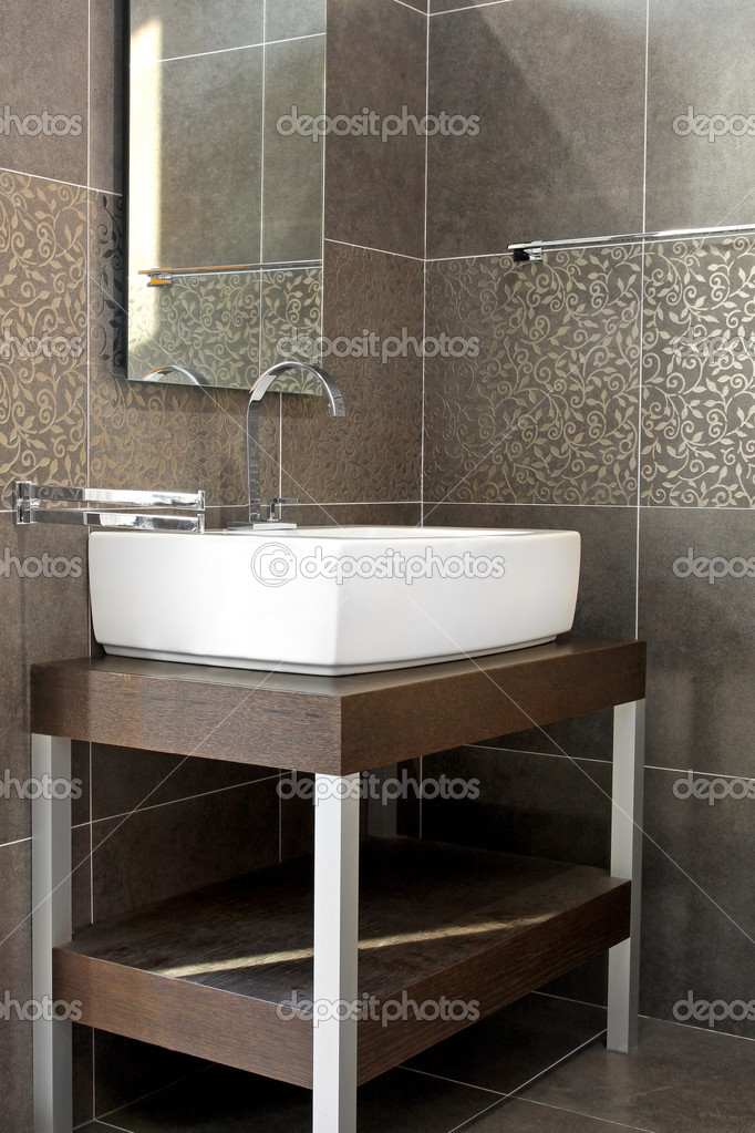donkere badkamer — Stockfoto © Baloncici #3468864