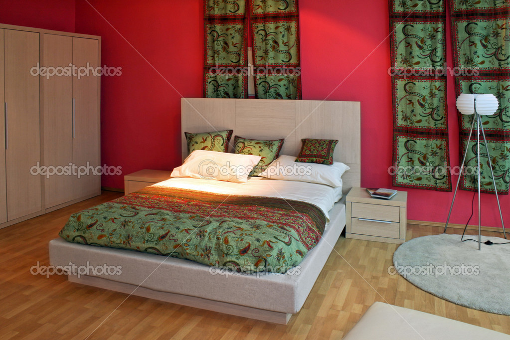 Camere Da Letto Orientale : Camera da letto orientale u foto stock baloncici