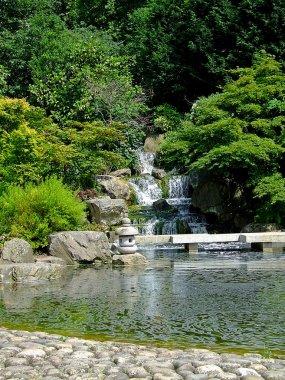 "Картина, постер, плакат, фотообои ""японское озеро печать архитектура"", артикул 3674947"
