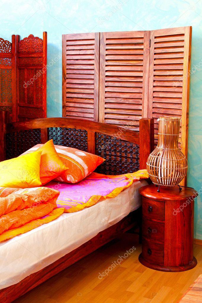 Camera da letto orientale — Foto Stock © Baloncici #3827936