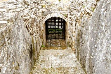 Catacomb door
