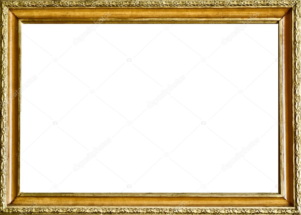 Picture antique frame — Stock Photo © kristina888 #2805918