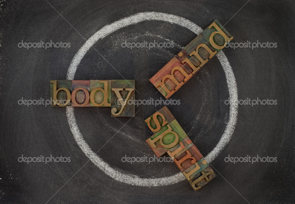 Body, mind, soul - wellness cycle