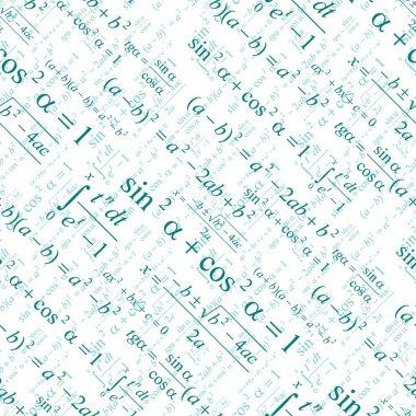 Seamless mathematical pattern