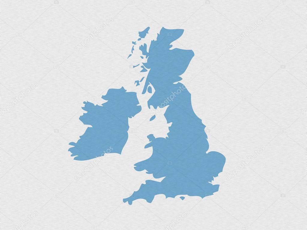 uk outline map u2014 stock photo ronfromyork 3308249