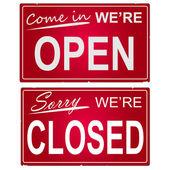otevřené a uzavřené známky