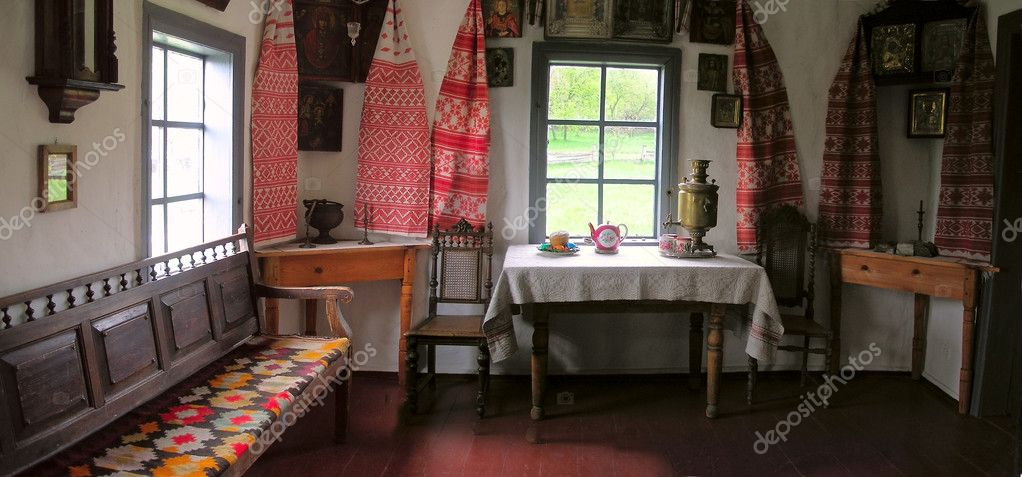 Interior of old house stock photo marinka 3005887 for Old indian house interior
