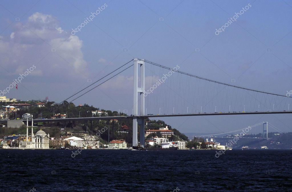 Bosphorus Bridge and Ortakoy Mosque
