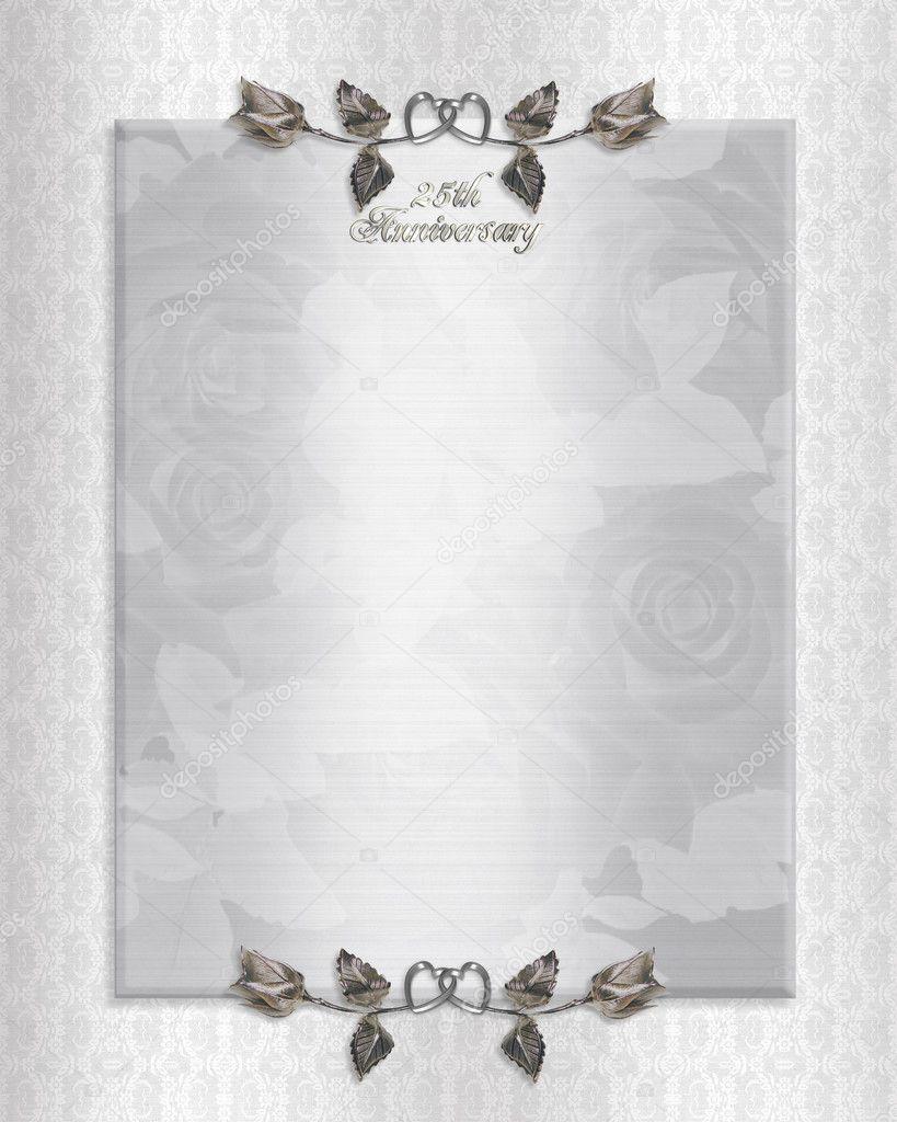 Invitación De Bodas De Plata 25 Fotos De Stock Irisangel
