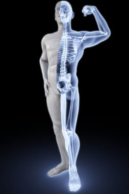 Athlete under Xrays