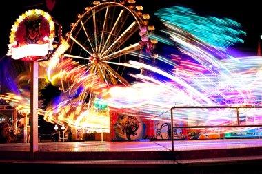Amusement Park of joy! stock vector