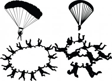Skydiving colection