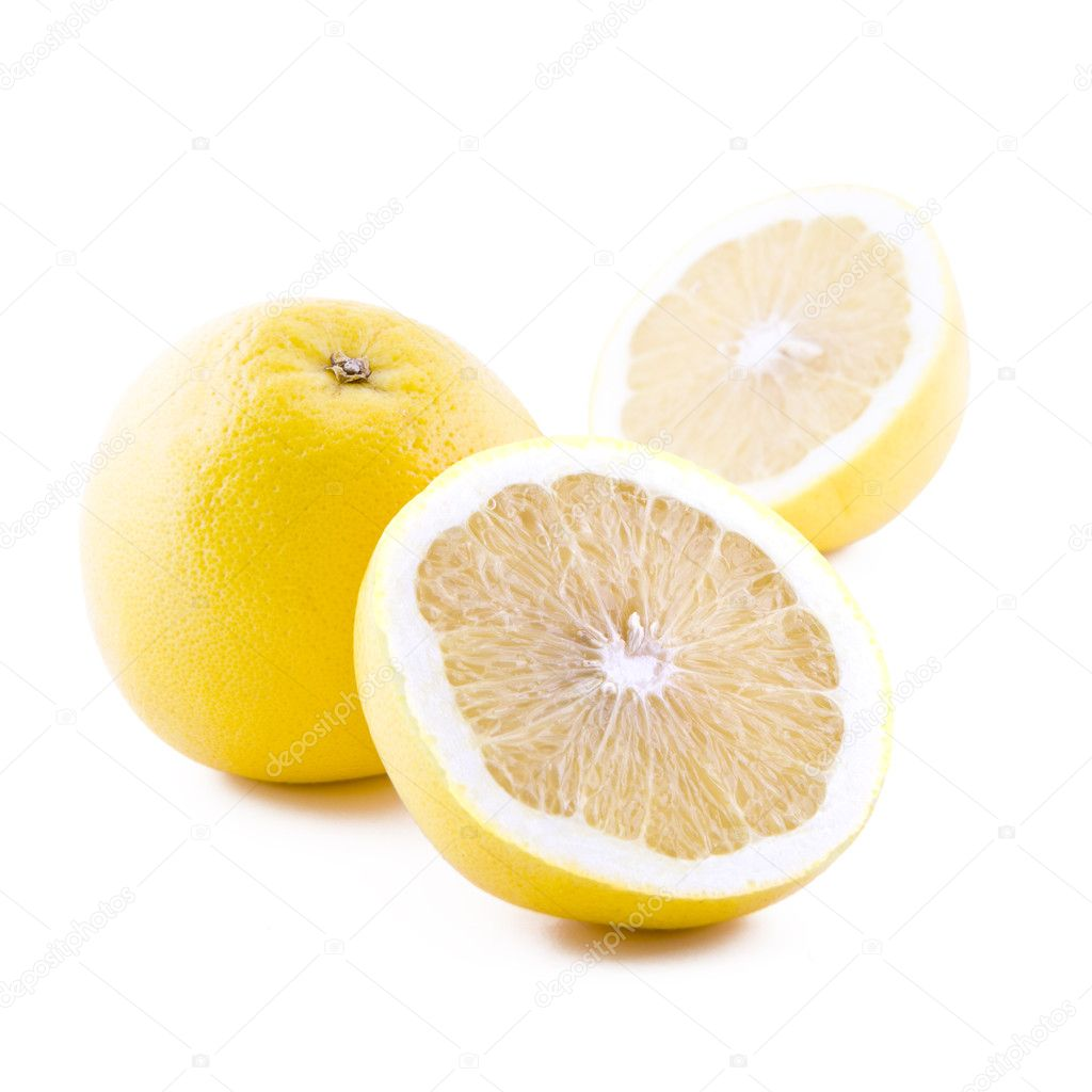 White grapefruit