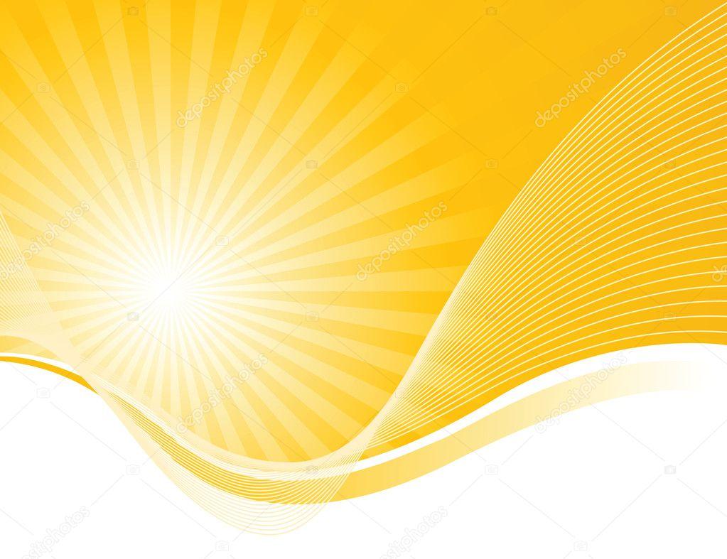 Waves and solar beams
