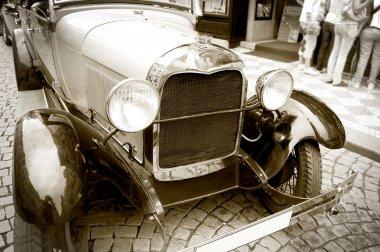 Antique car.