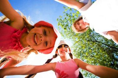 Cheerful children
